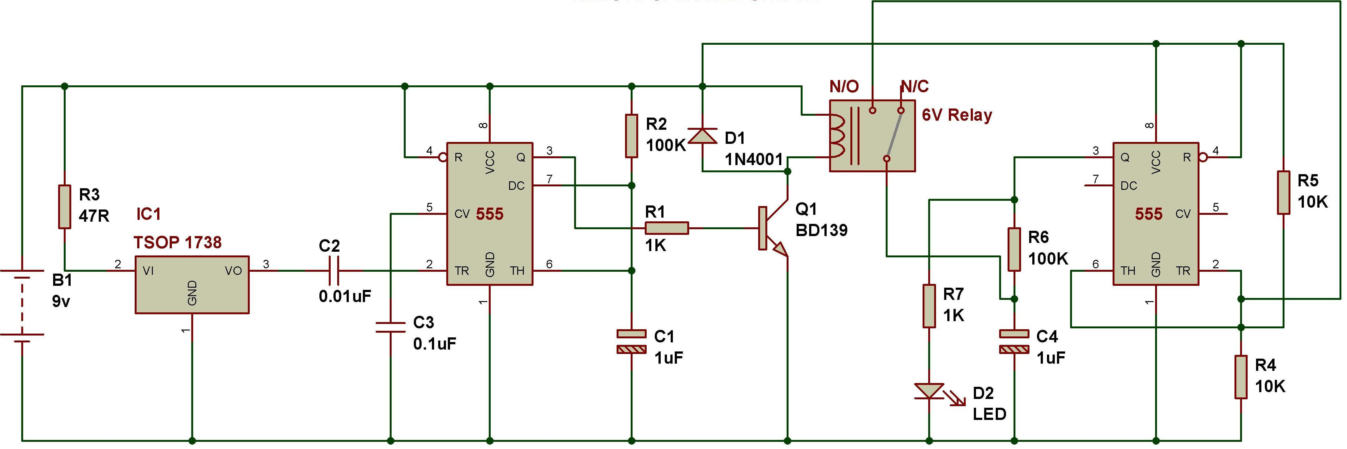 Light Operated Switch Buildcircuit Electronics Lm555 Timer Circuits Fig