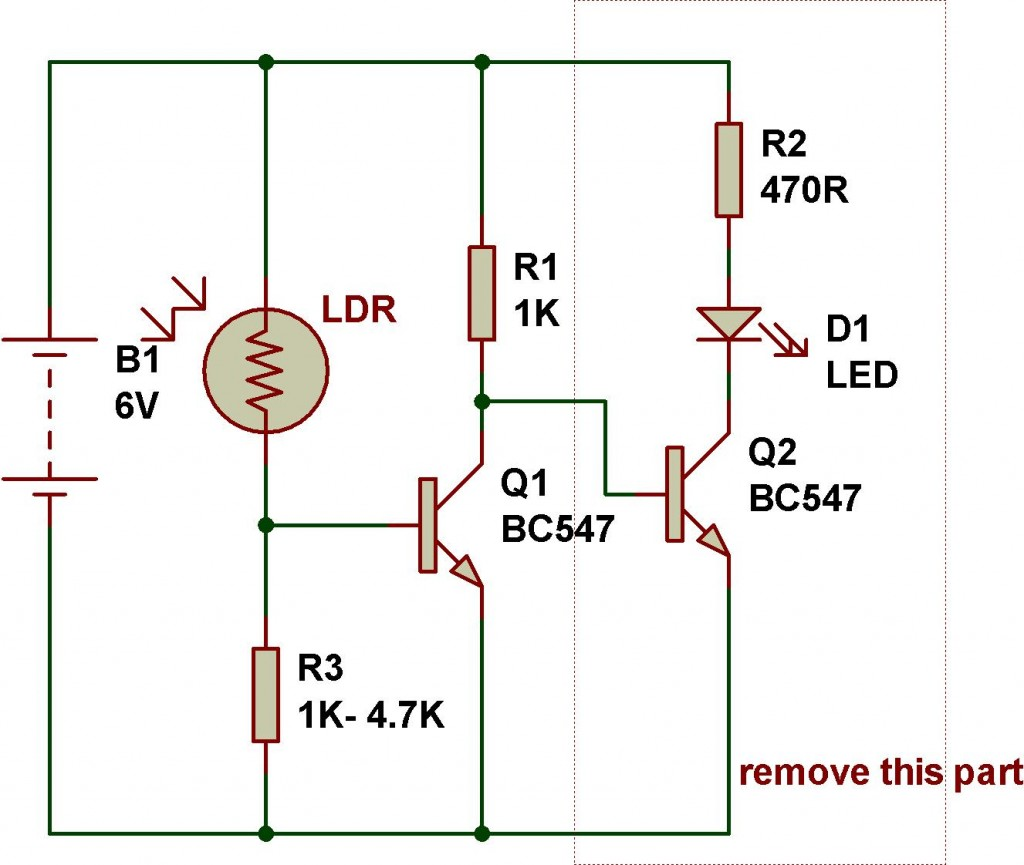 Use Of Transistor In A Circuit Ldr Engineering Buildcircuit Electronics