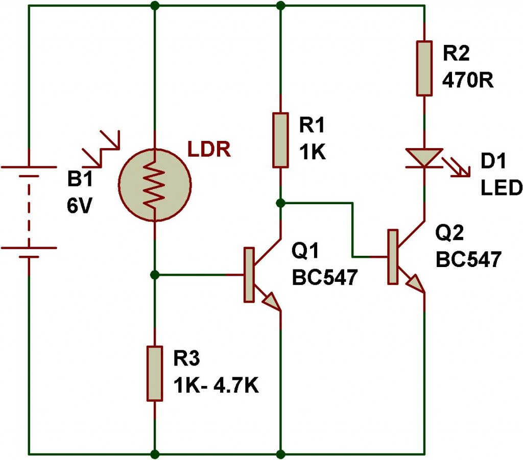 Ldr Engineering Buildcircuit Electronics Use Of Transistor In A Circuit