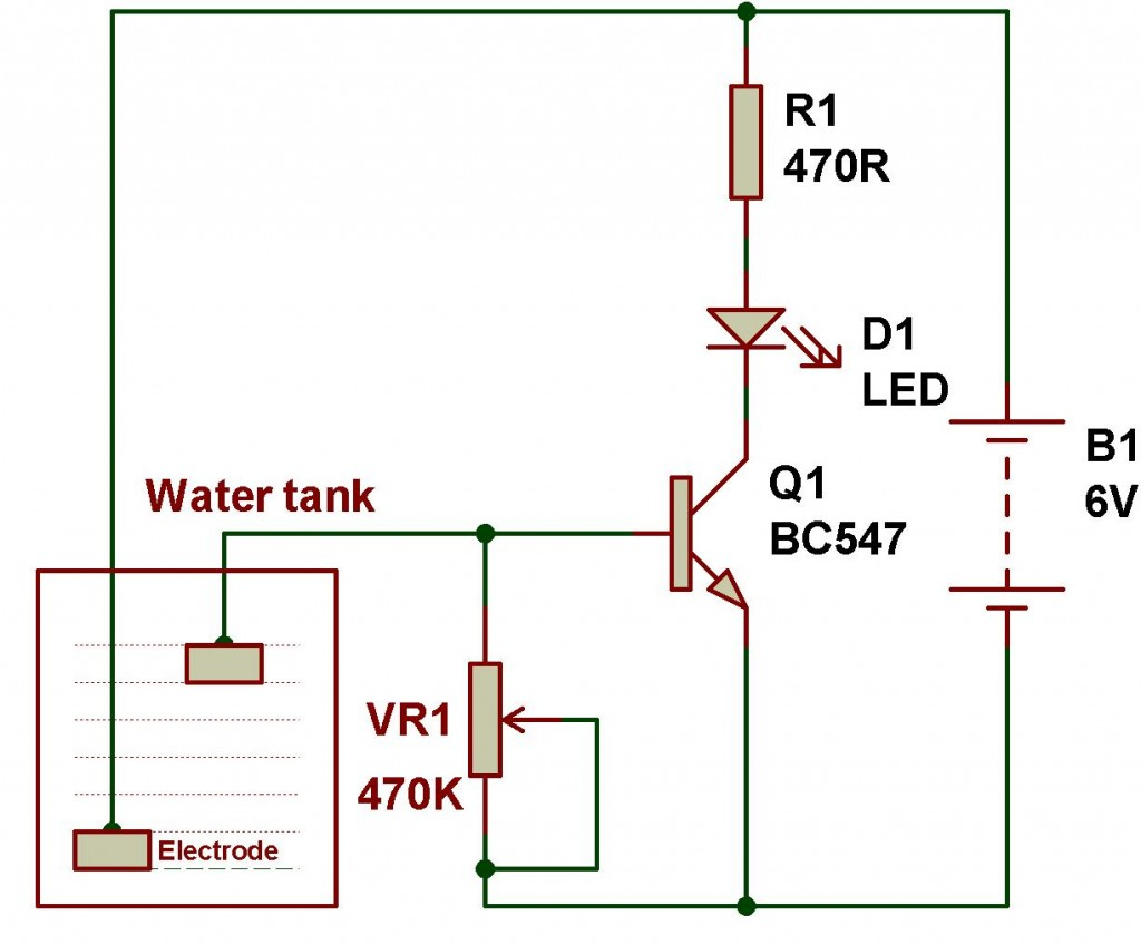 Ldr Engineering Buildcircuit Electronics Circuit Diagram Using Transistor The Experiments