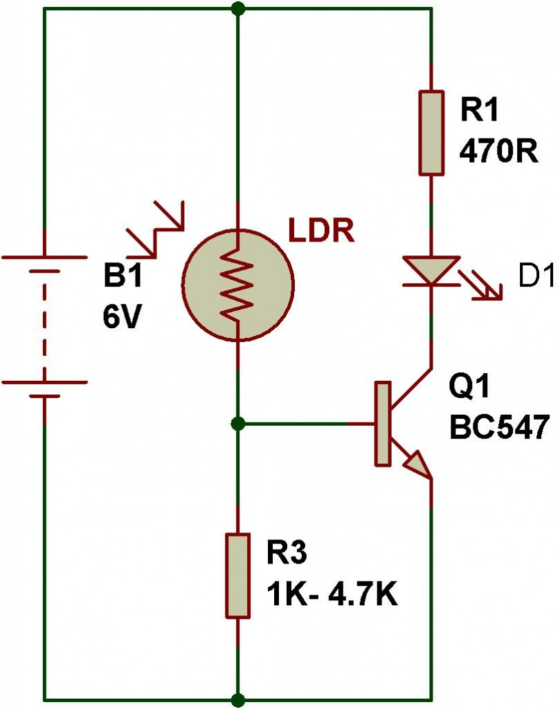 Ldr Engineering Buildcircuit Electronics Resistance In Circuits Circuit