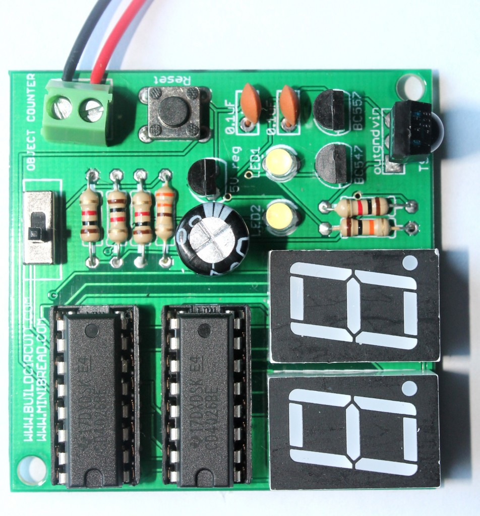 Digital Object Counter Diy Kit Buildcircuit Electronics Electronic Components As Light Sensor Module