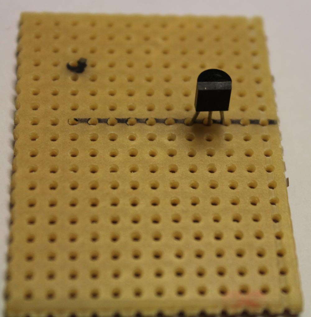 How To Make One Transistor Fm Transmitter On A Stripboard Page 1 2 4 Step Solder S9018q1