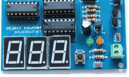 3 digits – digital object counter DIY kit