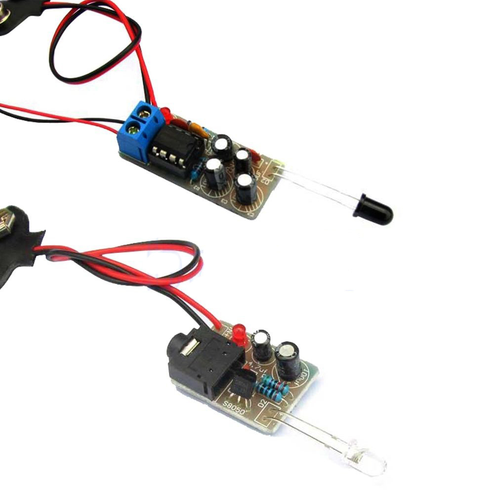 How To Assemble Infrared Transmitter For Receiver Diy Kit Circuit User Prototype Buildcircuit Electronics