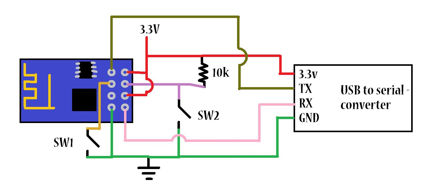 circuit diagram of series parallel testing board