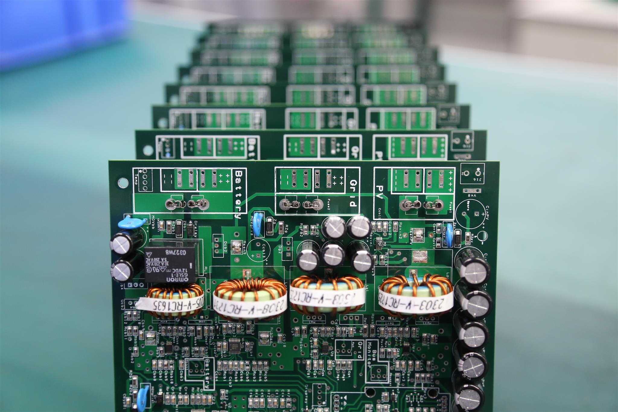 Pcbgogo A Professional Pcb Prototype And Assembly Manufacturer We Circuit Board Machine One The Other Hand There Are Seven New Drilling Machines In Fabrication Two Working Now Is With 6 Heads