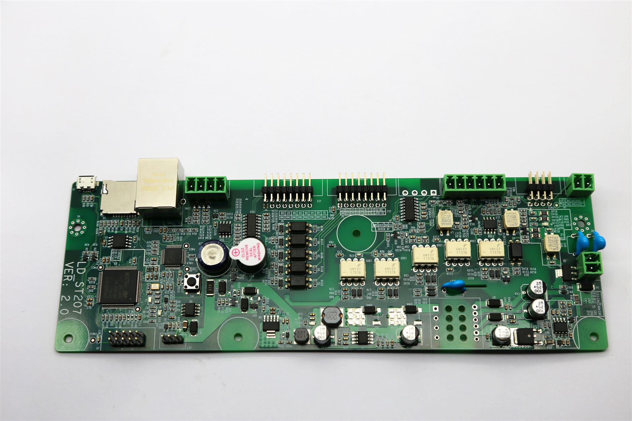 Pcbgogo A Professional Pcb Prototype And Assembly Manufacturer We Now Also Picture Of The First Board For This Circuit Has Brought In Panel Machine Its Latest Design Automatic Control With Plc Which Is Not Only Realizing