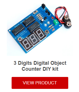 Digital object counter DIY kit | BuildCircuit COM