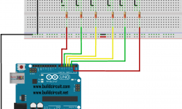 Arduino Project 28-Chirstmas Light using 6 LEDs