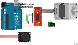Arduino Project  20-Arduino Joystick and stepper motor tutorial