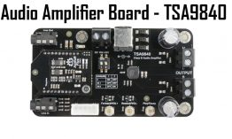 2 x 20W Class D Bluetooth Audio Amplifier Board – TSA9840