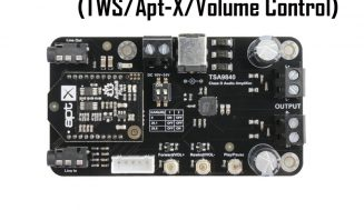 2 x 20W Class D Bluetooth Audio Amplifier Board – TSA9840B (TWS/Apt-X)