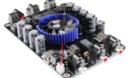 2 x 100W + 200W 3 Channels Audio Amplifier Board – TSA7600