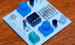 DIY KIT 51- LM358 based heat and light sensor