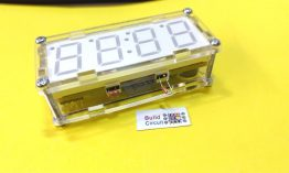 DIY KIT 61- Digital clock DIY kit with thermistor and photoresistor